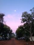 Image of moon at Tennant Creek